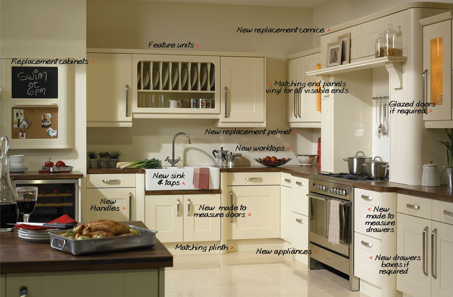 Fabulous Kitchens Updates Offer Made To Measure Replacement Kitchen Home Remodeling Inspirations Cosmcuboardxyz